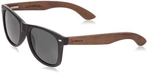 Les lunettes de soleil en bois de noyer