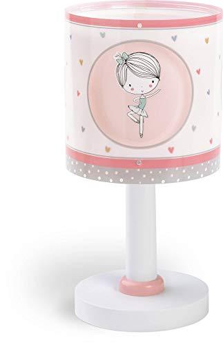 Dalber Sweet Dance Bureaulamp voor kinderen, ballerina roze