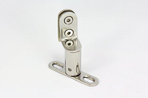 En acier inoxydable swing Charnière de porte de douche tubulaire – Axe De Porte design