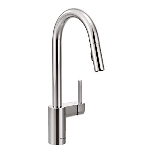 moen kitchen faucet in chrome - 7