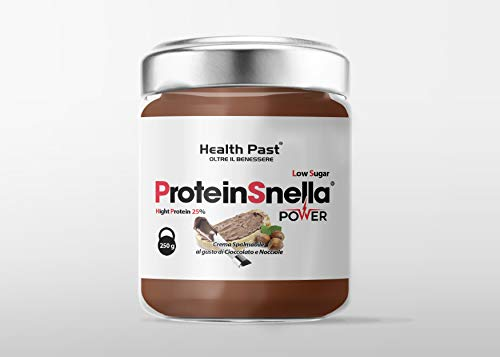 PROTEINELLA Power Protein Hazelnuts spreadable Cream with Cocoa - 250g Functional Food