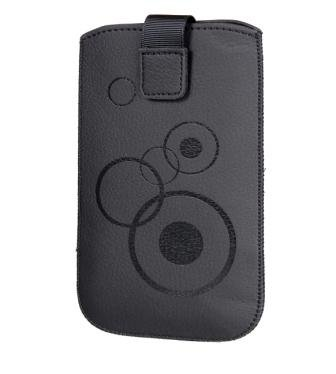 Handytasche Circle für Samsung GT-B2710 Handy Tasche Schutz Hülle Slim Case Cover Etui schwarz (s1)