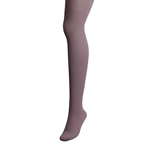 TOPTETN Women's Thermal Opaque Soft Warm Fleece Tights (lichtbruin)