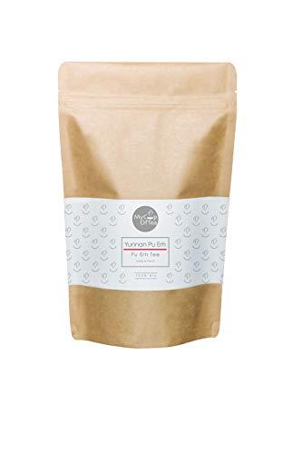 Yunnan Pu Erh 100 g - Pu-Erh-Tee in Bio-Qualität aus China - Hochwertiger roter Tee aus ökologischem Anbau - Für Genießer und Tee-Kenner - nach alter Tee-Tradition - MyCupOfTea