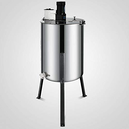 XINXI-YW Conveniente 4 Encuadre Extractor de Miel eléctrico de Acero Inoxidable Miel de Centrifugado for Apicultor Decorativo