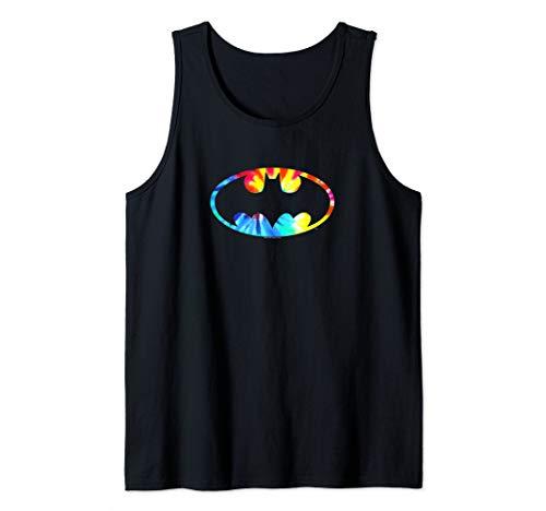Batman Tie Dye Batman Logo Tank Top