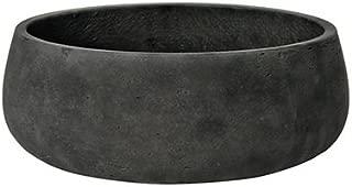 Elegant Fiberstone Black Planter Pot 5