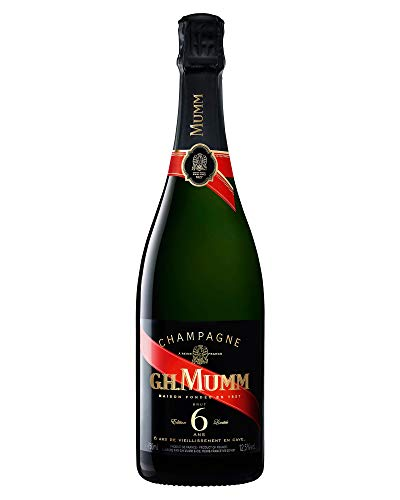 GH Mumm Brut Champagne Red Cord 6 Ans - 75cl