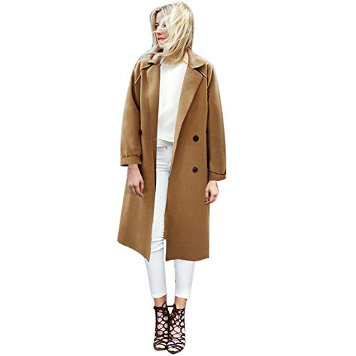Deelin damesjas, modieus, casual, effen, cardigan, lange jas, outwear, hoge kwaliteit, winterjas