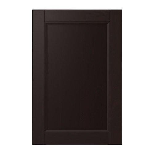 Ikea Laxarby - Tür, Schwarz-Braun - 40x60 cm