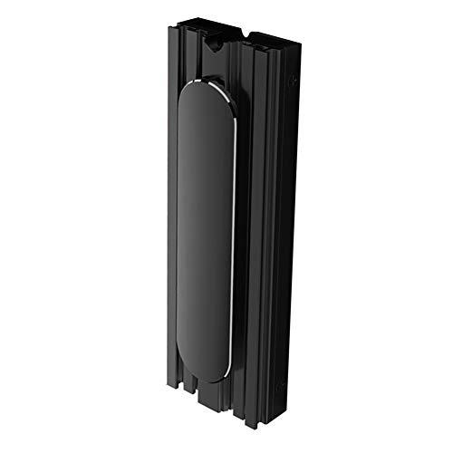 zNLIgHT PC Accessoires | Desktop Computer M.2 SSD Cooler Solid State Disk Cooling Fin Radiator Heatsink - Zwart OneSize Zwart