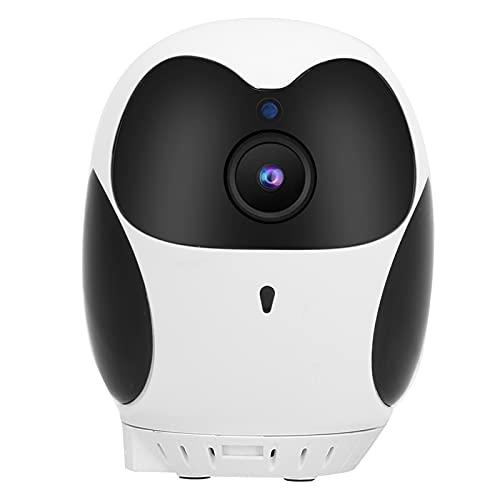Telecamera di sicurezza domestica- Telecamera da interni 1080P Telecamera IP WiFi Fotocamera wireless da 3 MP con audio a 2 vie e 2 modi di stoccaggio per il bambino, Animale domestico e Tata Monitor