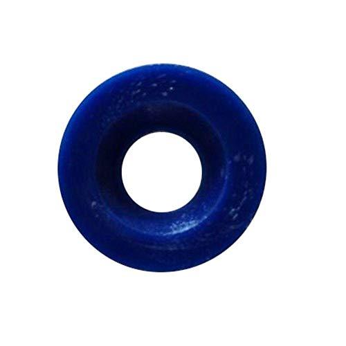 Index Button, Blue, Plastic