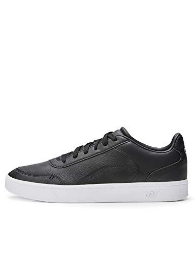 CARE OF by PUMA Sneaker basse da donna in pelle, Nero Black), 36 EU