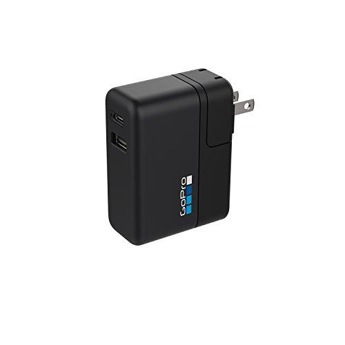 GoPro Supercharger - internationales Dualladegerät + USB-C 3A (Offizielles GoPro-Zubehör)