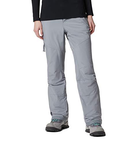Columbia Women's Kick Turner Insulated Pant, Grey Ash, XX-Large