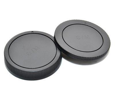 Maxsima–Tapa trasera & Cap para Canon EOS M camera y objetivos. EOSM....