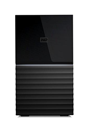 WD 4TB My Book Duo Desktop RAID External Hard Drive, USB 3.1 – WDBFBE0040JBK-NESN