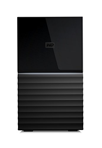 WD 4TB My Book Duo Desktop RAID External Hard Drive, USB 3.1 - WDBFBE0040JBK-NESN