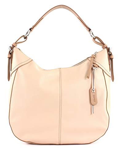 ESPRIT Damen Handtasche Tasche Henkeltasche Lydia hobo Rosa
