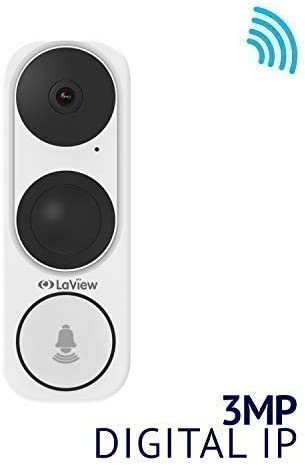 Deals on LaView LV-PDBONLO3R 3MP 2K HD Smart Video IP Doorbell Camera