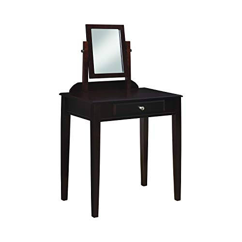 Frenchi Furniture 2-piece Vanity Set, Espresso