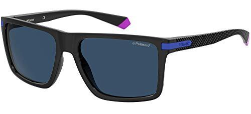 Gafas de sol PLD 2098 S OY4 C3 negro azul lentes polarizadas