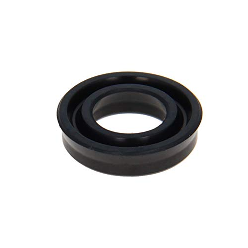 Othmro Hydraulic Seal Piston Shaft USH Oil Sealing O-Ring 12mm x 20mm x 5mm Nitrile Rubber Black 1pcs