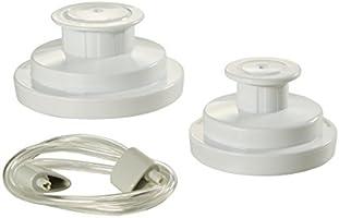 FoodSaver FCARWJAH-000 Kit Wide-Mouth Jar Sealer with Regular Sealer and Accessory Hose, White