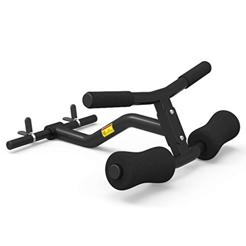 YCDJCS T Bar Row Shoulder Press Landmine Griff Schwarz for 25mm Hantel (1 Zoll) Hantel Zurück Anhaftung for Zuhause Fitnessstudio Armtrainer (Color : Black, Size : 50 * 40 cm)
