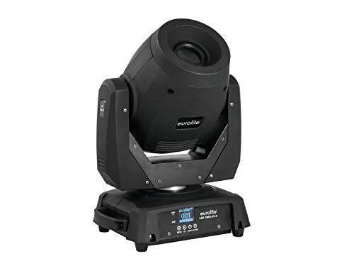 EUROLITE LED TMH-X12 Moving-Head Spot | Lichtstarker Spot mit 120-Watt-LED, rotierenden Gobos, Farbrad und Prisma