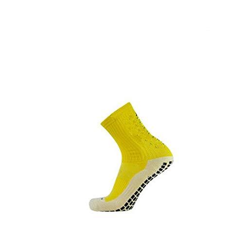 Wdonddonyjw Calcetines de Yoga Calcetines de fútbol Anti Slip Calcetines del fútbol de los Hombres se Divierte los Calcetines algodón (Color : Yellow)
