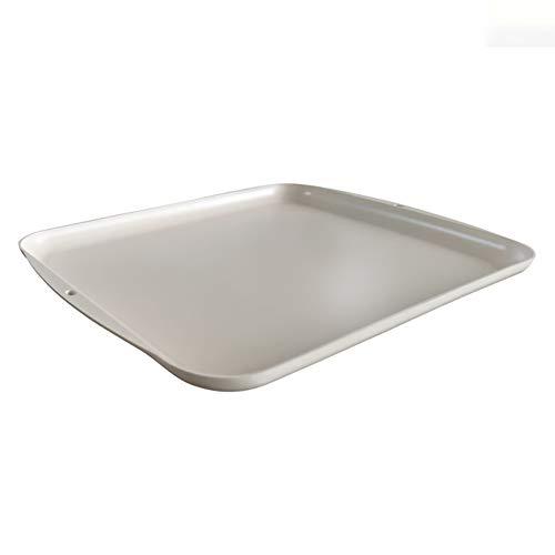 FSYG Aluminium Abtauung Matte Pad Auftauplatte Auftauen Tafel Schnell Oben Bis 3. Mal Schneller Abtauung Zum Fleisch Und Gefroren Lebensmittel,Weiß