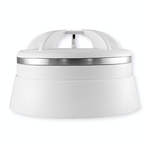 frient 20209700 Intelligent Heat Alarm | Funk Hitzemelder | kabelloser Feuersensor | sofortiger Feueralarm | batteriebetrieben | Zigbee | funktioniert mit Google Assistant, und Athom Homey