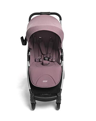 Mamas & Papas Armadillo Compact Pushchair with Lightweight Frame, One Hand Fold, Adjustable Seat, Lie Flat Position & Large UPF 50+ Protective Hood – Grape Mamas & Papas COMPACT FOLD - A compact fold that fits in the boot of a Mini, collapsing with one hand ALL IN ONE BUGGY - With no compromise on room our biggest lie-flat seat offers loads of stretching room LARGE UPF 50+ HOOD - A large UPF 50+ hood protects against rays and rainy days with a magnetic window to check on baby 3