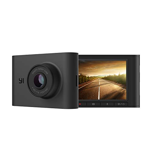 YI Nightscape Dash Cam, 1080p Smart Wi-Fi Car Camera with Heat-Resistant Supercapacitor, Sony Sensor - $29.73