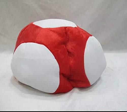 Super Mario - Sombrero de peluche para disfraz de Super Mario