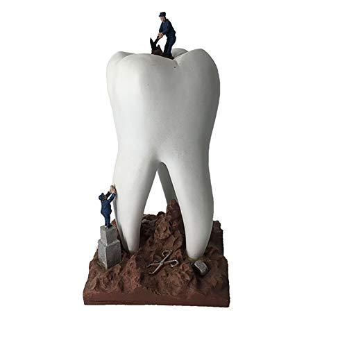 MBEN Dientes Crafts Modelo, Resina Dental Clínica de