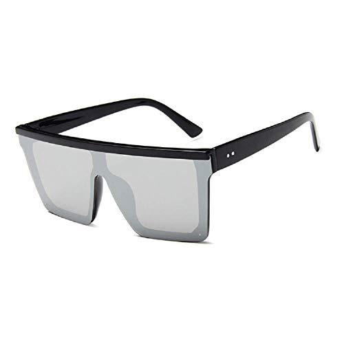 15 colores gafas de sol planas hombres mujeres diseñador de la marca sombras cuadradas gradiente gafas de sol hombres cool one piece uv400 espejo