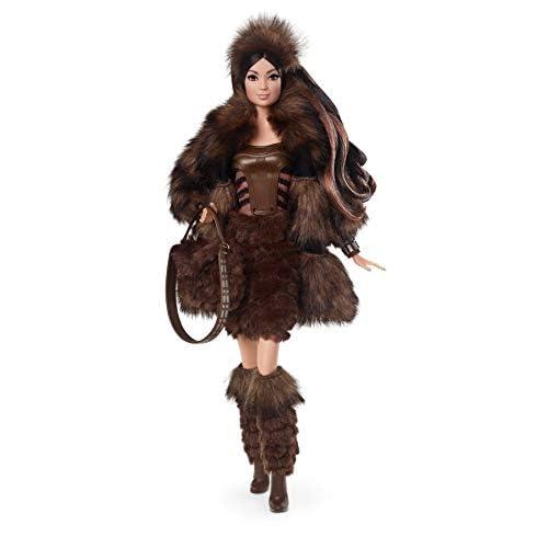 Barbie Star Wars Bambola Chewbacca da Collezione, Giocattolo per Bambini 6+ Anni, GMM96