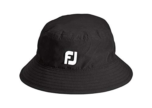 FootJoy DryJoys Tour Bucket Hat (Large/X-Large) Black