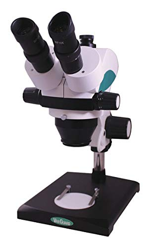 VANGUARD Microscope, Trinocular, 0.7X to 4.5X Optical Magnification, Stereo, 22mm Optical Field of View