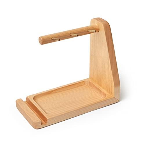 Baratija de decoración de centro de mesa Plato de baratijas de madera, organizador de bandejas para llaves, stand de joyería organizador colgante, bandeja de catchall, bandeja decorativa retro para so