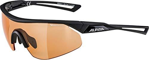 ALPINA Unisex - Erwachsene, NYLOS SHIELD V Sportbrille, black matt, One Size