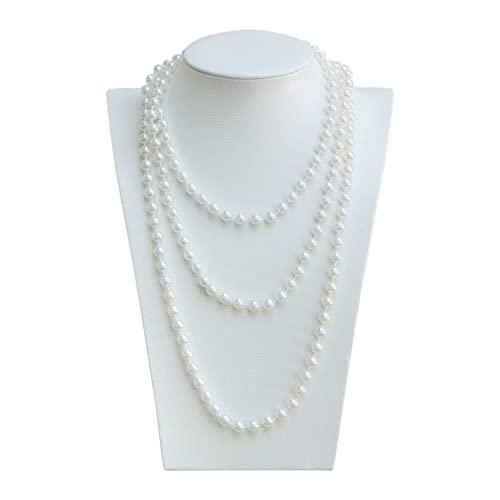 Oblique-Unique® -   Perlenkette 180cm