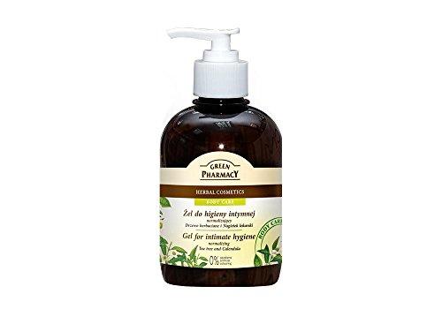 Higiene íntima GEL INTIMO 370ML.ARBOL DE TE Y CALENDULA de Green Pharmacy Productos de Higiene íntima para Mujer Los productos de la marca Green Pharmacy están fabricados con ingredientes de la mejor calidad.
