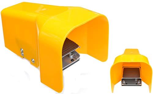 Pro-Lift-Werkzeuge Pneumatischer Fußschalter Fußpedal Fußtaster pneumatisch Druckluft 1/4
