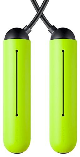 Tangram. Agarre de Silicona. Accesorios para Cuerda Inteligente, Color Verde