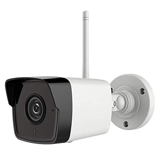 Videocamera HD WiFi Senza Fili, Telecamera di Sicurezza Ip da 2 MP con Visione Notturna, Rilevamento del Movimento E Servizio Scheda SD, Telecamera di Sorveglianza Esterna Domestica