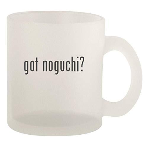 got noguchi? - Glass 10oz Frosted Coffee Mug